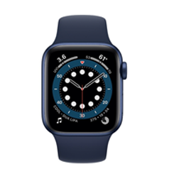 Apple Watch Seri 6 Sport  Blue 44MM - M00J3