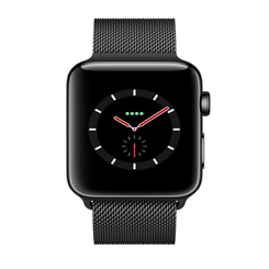 Apple Watch Series 4 Black Stainless Steel (LTE) 40mm-MTUQ2