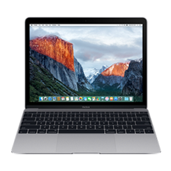 Apple The New Macbook 256GB - Gray (MNYF2) 2017
