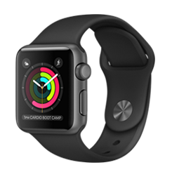 Apple Watch Sport  38mm Gray MTF02