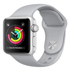 Apple Watch Sport 38mm Silver MTEY2